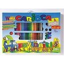 Carioca Maxi-Project 72 pieces Activity Kit (Happy Train)