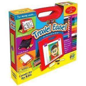 DO ART Travel EASEL Kid lap desk COLORING Draw CAR NEW