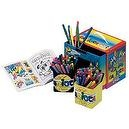 Carioca Activity Box 120 Piece Coloring Kit (Classic)