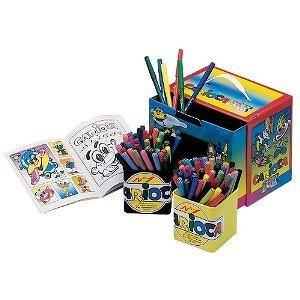 Carioca Activity Box 120 Piece Coloring Kit (Classic)