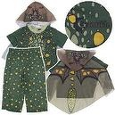 How To Train Your Dragon Toddler 3-Pc Olive Green Gronckle Costume - Sz 3T