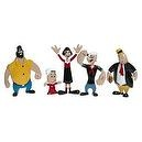 Popeye the Sailor Bendable and Poseable Character Collectible Figures 5-Piece Set