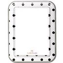 Locker Lookz Magnetic Dry-Erase Boards White Black Dots  Stylish Magnetic Dry Erase Boards