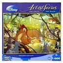 Disney Artist Series Toby Bluth Bambi And Mother 1000 Piece PUZZLE