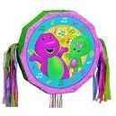 Barney Pull String Pinata 18in x 19in