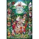 "Alice in Wonderland The Tea Party 399 Pieces Puzzle (Size 26 1/2"" X 17 1/4"")"