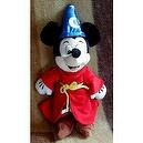 "Disneys Fantasia Mickey Mouse the Sorcerer Bean Bag 14"" X 7"""