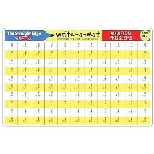 Melissa & Doug Addition Write-a-Mat