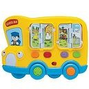 "Interactive Musical Toy ""School Bus"" By Megcos -Affordable Gift for your Little One! Item #LMID-1295"