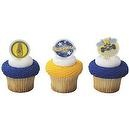 12 ct Boy Scouts Blue and Gold Cupcake Poly Picks