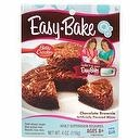 Easy Bake Chocolate Brownie Dessert MIX Kids Oven