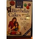 Birthday Cakes for Kids, The Creative Activity Kit, Easy Step-By-Step Instructions Book & Kit