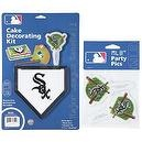 MLB Chicago White Sox Lay-on Cake/Cupcake Decorations