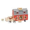 Melissa & Doug Fold and Go Mini Barn