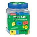 "Eureka Tub Of Word Tiles, 160 Tiles in 3 3/4"" x 5 1/2"" x 3 3/4"" Tub"