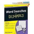 Word Searches For Dummies [Paperback]