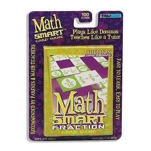 Talicor Math Smart Add Fractions Card Game