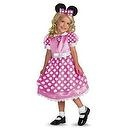 Minnie Mouse Clubhouse  - Pink Costume - Medium (3T-4T)  Disney Clubhouse Minnie Mouse (Pink) Toddler / Child Costume