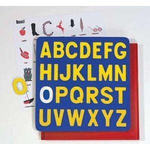A to Z Capitols Crepe Rubber Puzzle - Colors May Vary