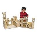 Melissa & Doug Deluxe Folding Medieval Castle