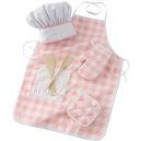 KidKraft Tasty Treats Chef Accessory Set - Pink  Tasty Treats Chef Access Set