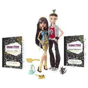 Monster High Cleo De Nile and Deuce Gorgon Giftset