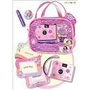Pecoware / Camera and Picture Frame Set, Princess Rose Slippers
