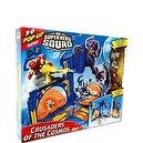 Marvel Superhero Squad 3D Pop Up Playset Crusaders of the Cosmos Includes Silver Surfer Iron Man Figures
