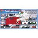 Life-Like Trains HO Scale Holiday Rails Electric Train Set #8198