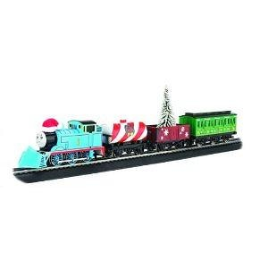 Bachmann Trains Thomas Holiday Special Ready-to-Run HO Train Set