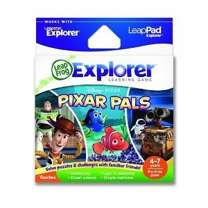 LeapFrog Explorer Learning Game Pixar Pals