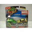 Marvel Universe Hulk Vs Abomination Die Cast Collection Cars
