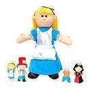"""Alice in Wonderland Puppet 12"""" by Fiesta"""