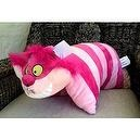 Disney Alice in Wonderland Cheshire Cat Pillow Pal Pet Plush Doll NEW