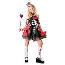 Alice In Wonderland Queen of Hearts Costume - Child Size 8-10  Alice In Wonderland Queen of Hearts Costume