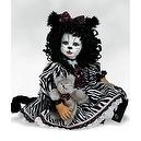 The Cat Doll, The Cats Meow Meow, 22 inch Porcelain (Artist: Denise McMillan)
