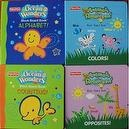 Fisher-Price Set of 4 Ocean Wonders & Animals of the Rainforest (Alphabet, Colors, Counting, Opposites)