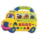 Animal Kingdom School Bus Electronic Educational Toy - Learn Letters, Numbers, Colors, & Shapes!