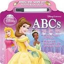 Bendon Disney Princess Learning ABCs Write and Wipe Board Book with Marker