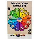 Easy As Pie Music Note Alphabet Puzzle