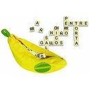 Spanish Bananagrams - Crossword Travel Game in Banana Bag
