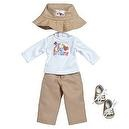 "Adora 18"" Doll Clothes - Girl Scout Brownie Long Sleeve T-Shirt/Pant Set"