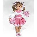 Cheerleader Doll, Something to Cheer About, 24 inch Vinyl Doll (Artist: Kathy Smith Fitzpatrick)