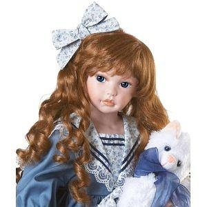 "Patti Anne, 26"" Collectible Porcelain Doll (Artist: Kathy Smith-Fitzpatrick) by Paradise Galleries Dolls"