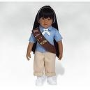 18 Inch Doll, Maria - Girl Scout Brownie Doll, Made in Vinyl