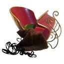 Victorian Holiday Sleigh and Accessories Sized for American Girl Dolls and My Twin