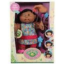 Pop 'N Style Cabbage Patch Kids Doll - Hispanic Girl with Black Hair