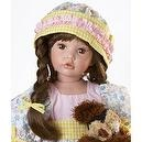 Collectible Porcelain Dolls, Roxanne 24 inch Standing Porcelain (Artist: Donna Rubert)