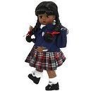 "Madame Alexander 8"" English School Girl African-American"