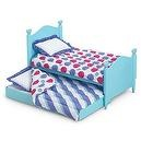 American Girls Trundle Bed & Bedding